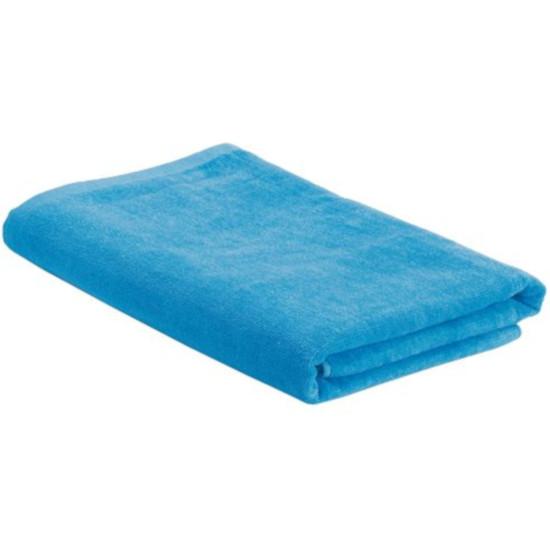Пляжное полотенце в сумке SoaKing, голубое - фото № 1