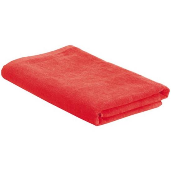 Пляжное полотенце в сумке SoaKing, красное - фото № 1