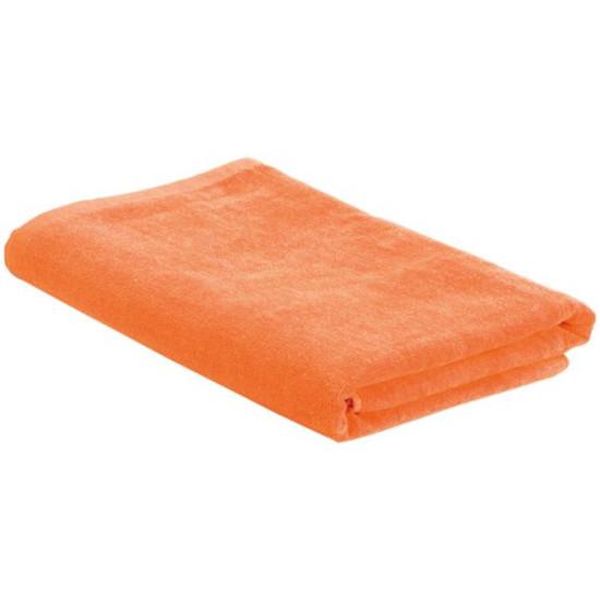 Пляжное полотенце в сумке SoaKing, оранжевое - фото № 1