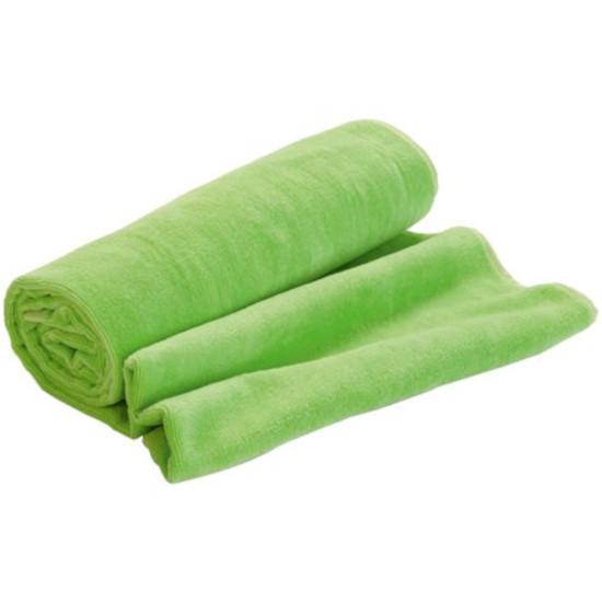 Пляжное полотенце в сумке SoaKing, зеленое - фото № 1