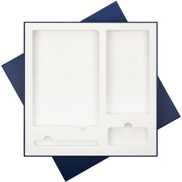 Коробка подарочная для набора Portobello, 307х307 мм., синяя - фото № 1