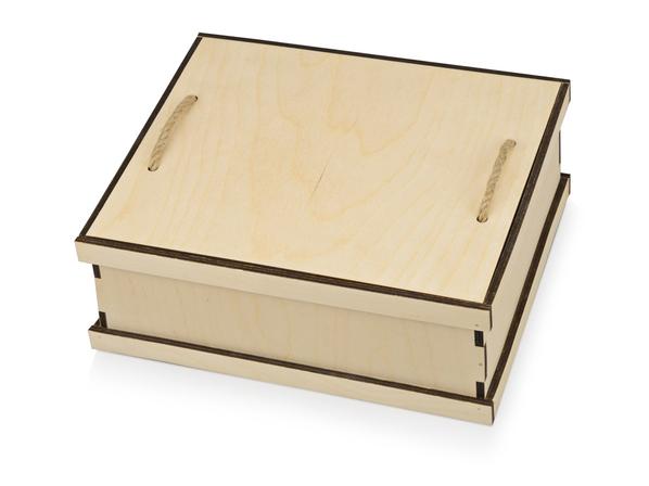 Подарочная коробка Invio, бежевый - фото № 1