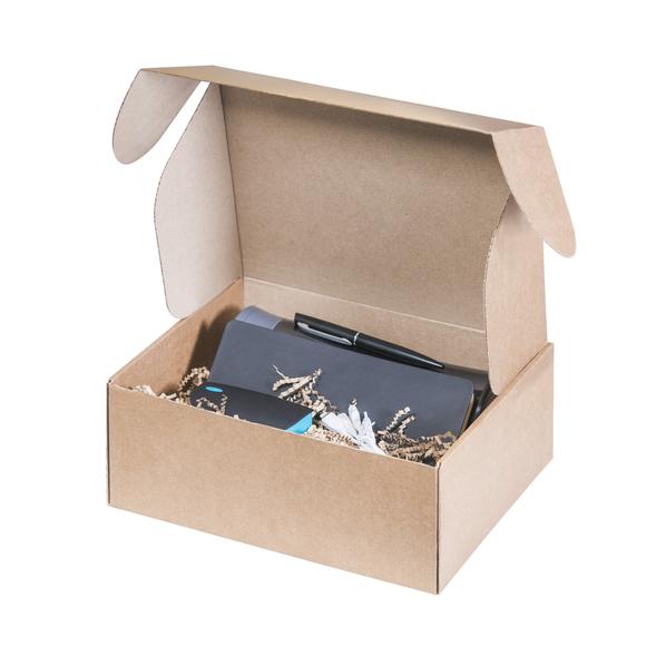Набор подарочный Portobello: термокружка, ежедневник недатированный А5, внешний аккумулятор 4000 mAh, ручка, черный - фото № 1