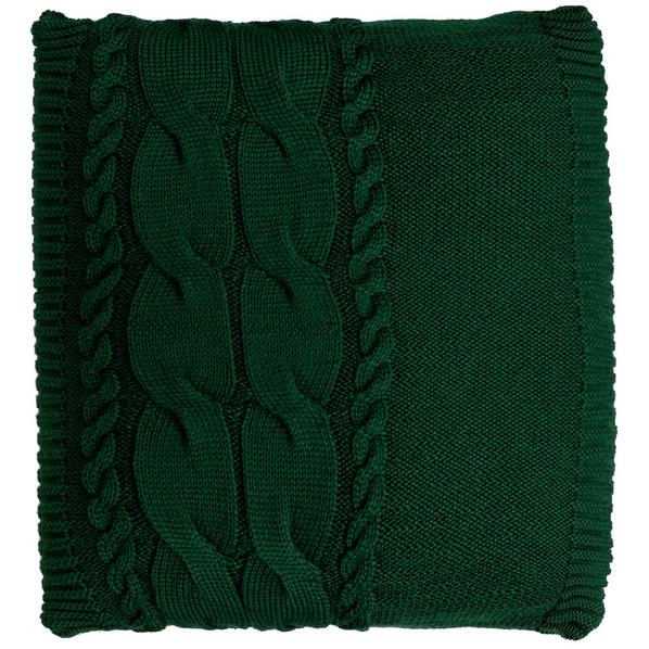 Подушка Stille, зеленая - фото № 1