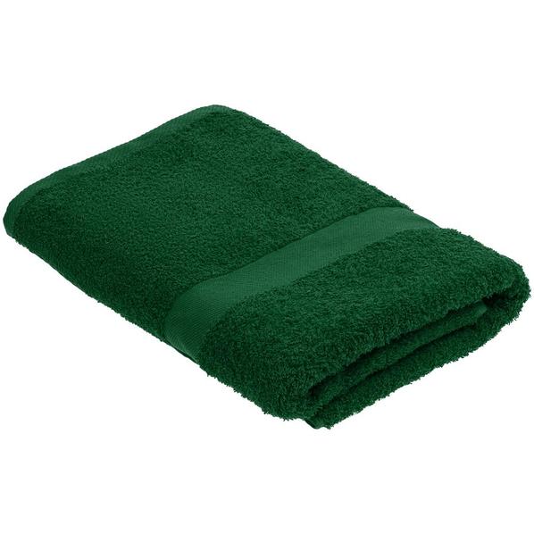 Полотенце Embrace, большое, зеленое - фото № 1