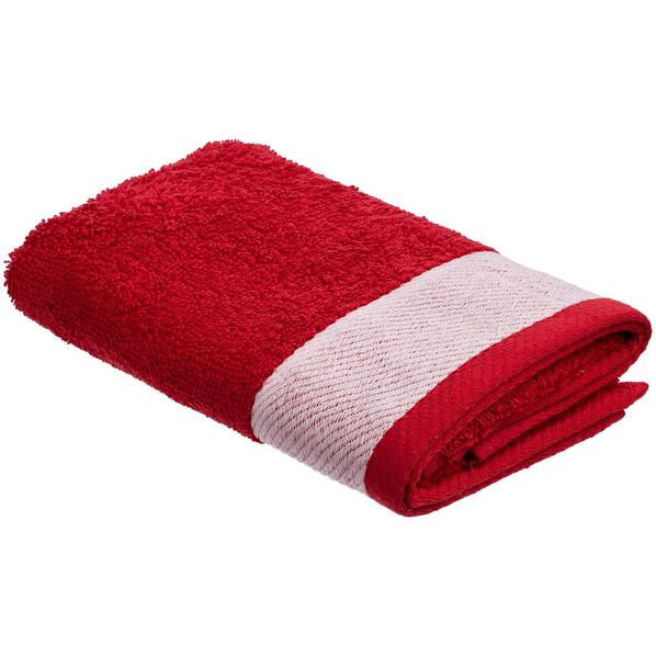 Полотенце Etude, малое, красное - фото № 1