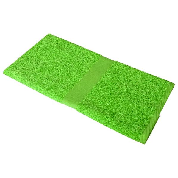 Полотенце махровое Medium, зеленое яблоко - фото № 1