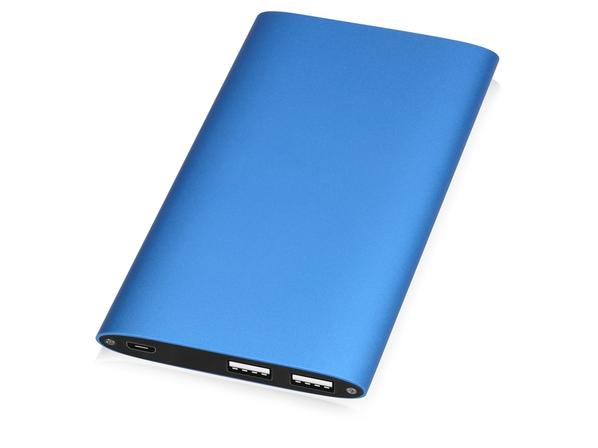 Зарядное устройство портативное Джет, 8000 mAh, синее - фото № 1