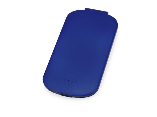 Зарядное устройство портативное Pin с клипом, 4000 mAh, синее - фото № 1