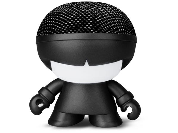 Динамик беспроводной портативный Bluetooth Xoopar Mini XBOY Metallic, черный - фото № 1