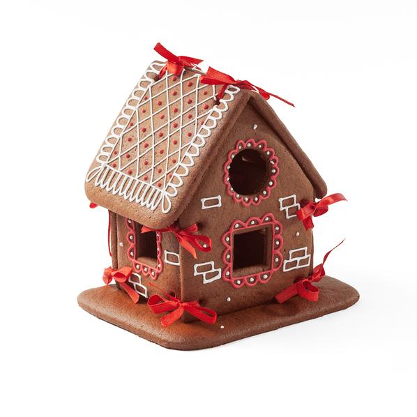 Набор для сборки Пряничный домик, коричневый - фото № 1