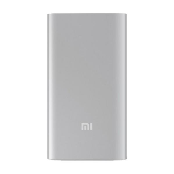 Внешний аккумулятор Xiaomi Mi Power Bank, 5000 mAh, белый
