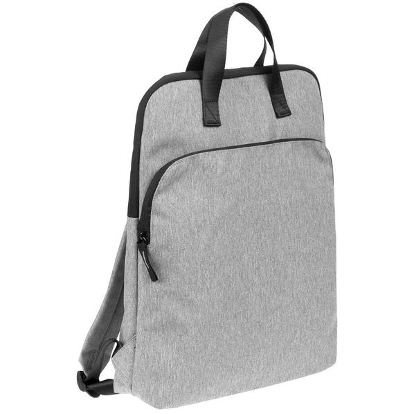 Рюкзак Burst Oneworld, серый меланж - фото № 1