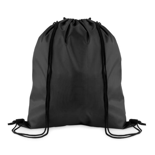 Рюкзак, чёрный, из полиэстера - фото № 1
