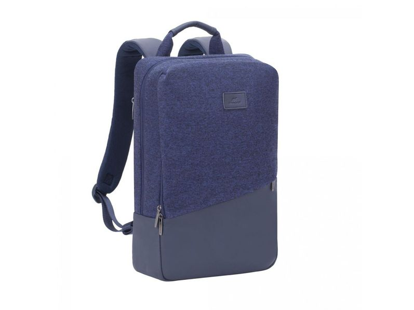 "Рюкзак Rivacase для для MacBook Pro 15"" и Ultrabook 15.6"", синий/ синий меланж"