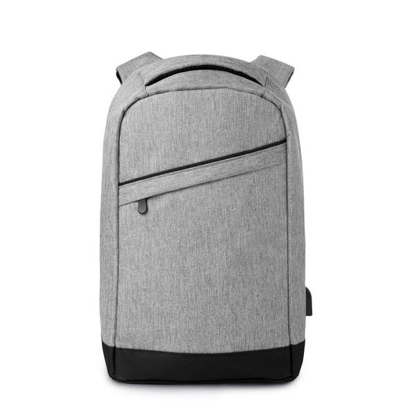 """Рюкзак для ноутбука 13"""" Berlin, светло-серый - фото № 1"""