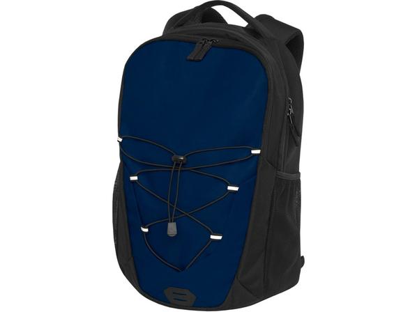 """Рюкзак для ноутбука 15,6"""" Trails, черный / темно-синий - фото № 1"""