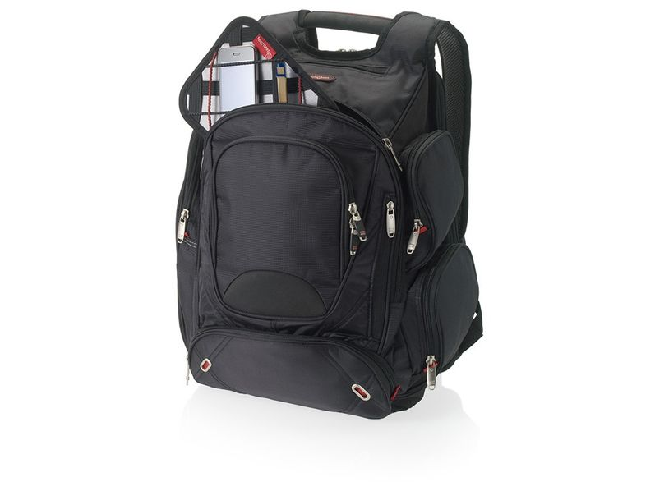 Рюкзак Elleven для ноутбука, черный - фото № 1