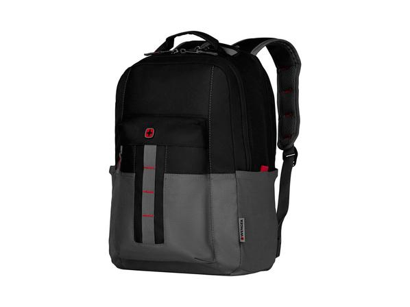 """Рюкзак Wenger Ero Pro с отделением для ноутбука 16"""", черный/ серый - фото № 1"""