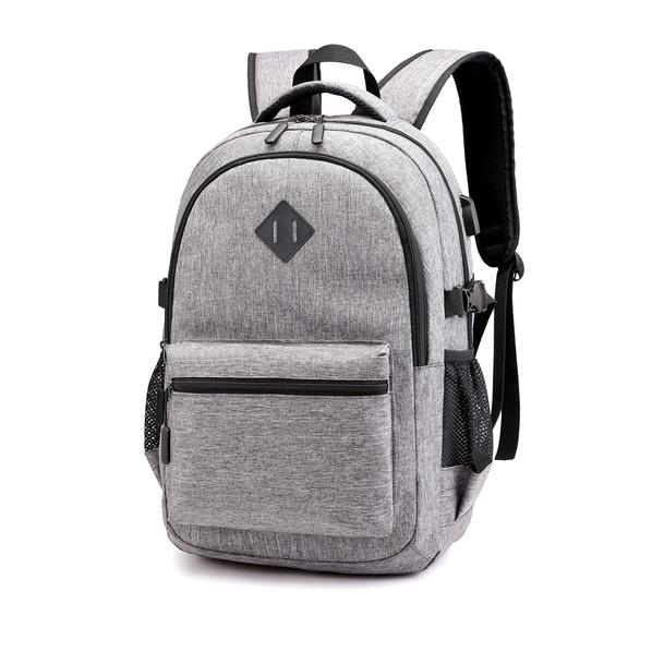 Рюкзак Gerk, серый - фото № 1