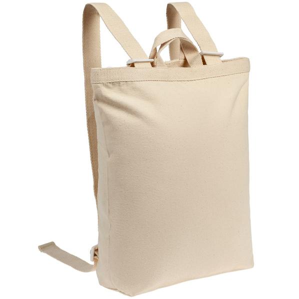 Рюкзак холщовый Discovery Bag, бежевый - фото № 1