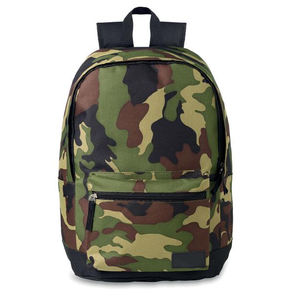 Рюкзак из полиэстера, зеленый - фото № 1