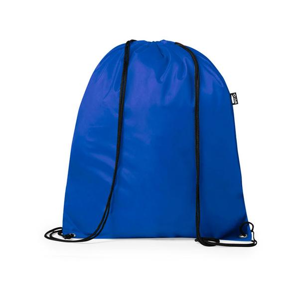 Рюкзак из рециклированного полиэстера Lambur, синий - фото № 1