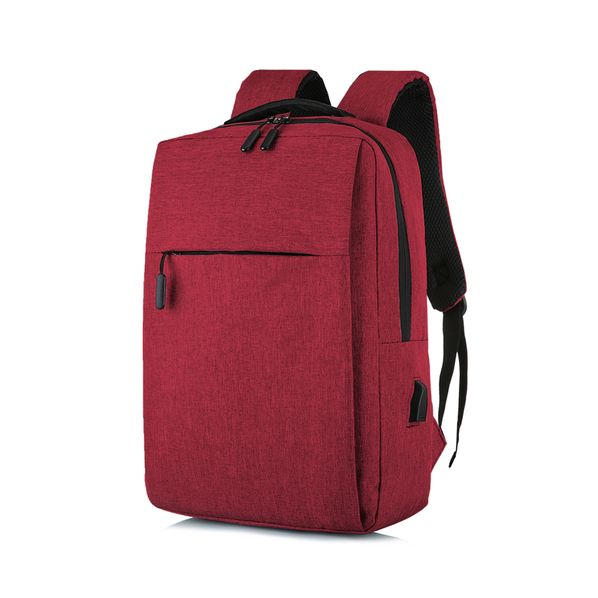 Рюкзак Lifestyle, красный - фото № 1