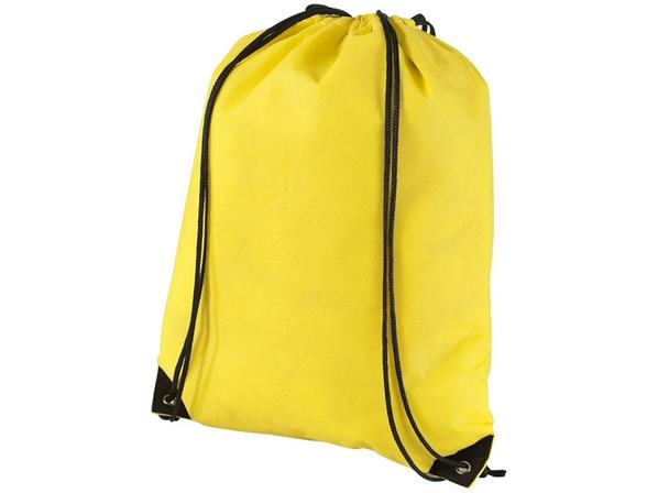 Рюкзак-мешок Evergreen, желтый - фото № 1