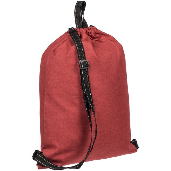 Рюкзак-мешок Molti Melango, красный - фото № 1