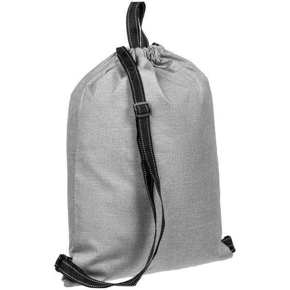 Рюкзак-мешок Molti Melango, серый - фото № 1