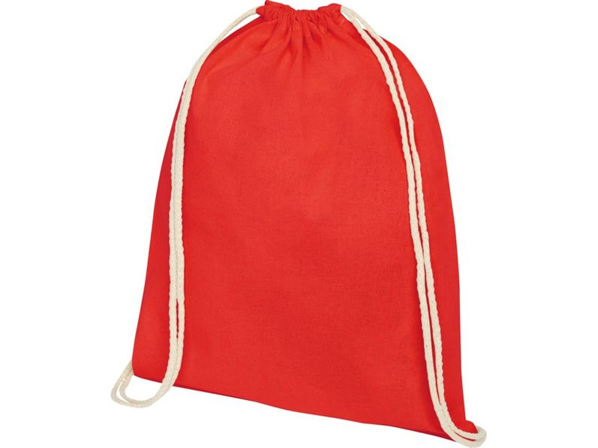 Рюкзак-мешок Oregon, красный - фото № 1