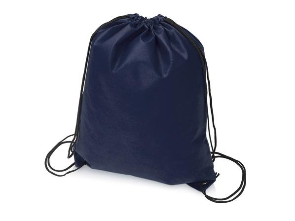 Рюкзак-мешок с двойными лямками Пилигрим, тёмно-синий - фото № 1