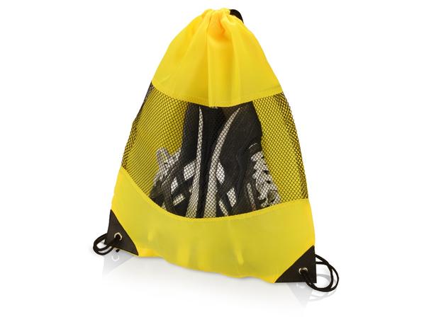 Рюкзак-мешок Вспомогательный, желтый - фото № 1