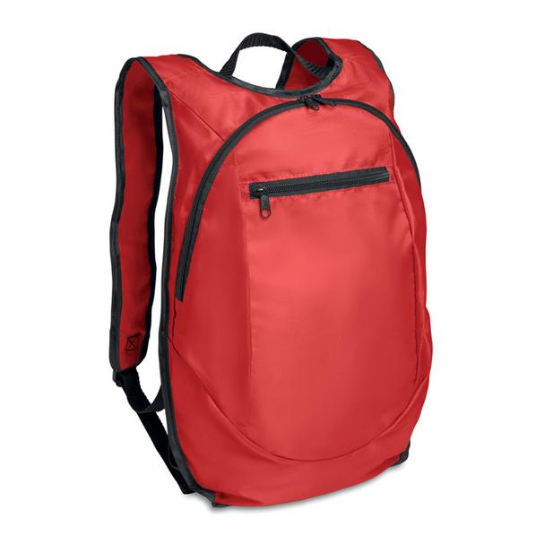 Рюкзак, влагозащищенный, красный - фото № 1