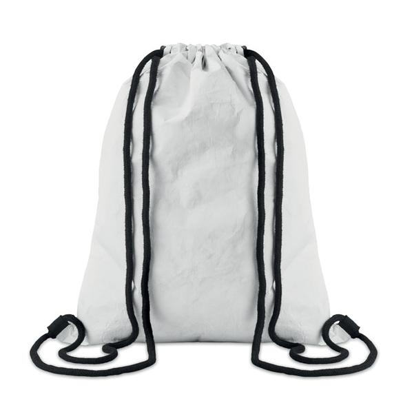 Рюкзак на шнурках, белый - фото № 1