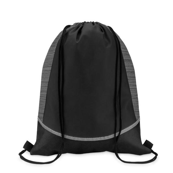 Рюкзак нетканый, черный - фото № 1