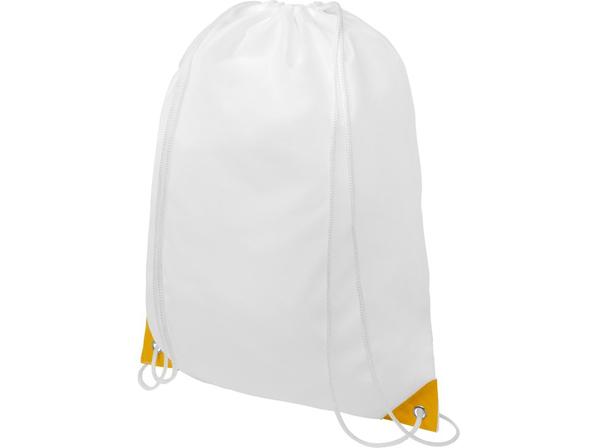 Рюкзак Oriole, белый / желтый - фото № 1