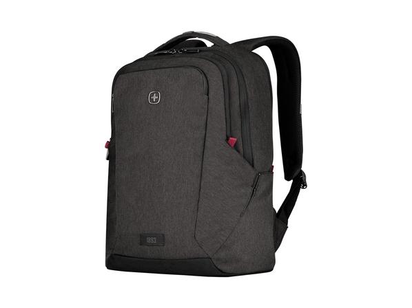 "Рюкзак с отделением для ноутбука 16"" Wenger MX Professional, серый меланж - фото № 1"