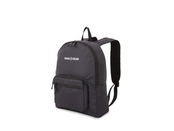 Рюкзак складной Swissgear, насыщенный черный - фото № 1