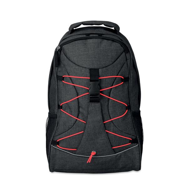 Рюкзак, светящийся в темноте, красный - фото № 1