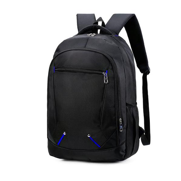 Рюкзак SWS Comfort, синий / черный - фото № 1