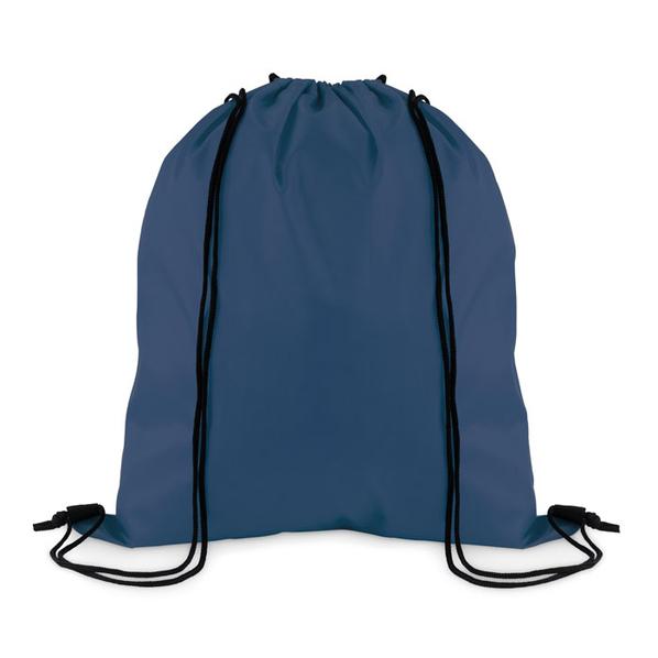 Рюкзак, тёмно-синий, из полиэстера - фото № 1