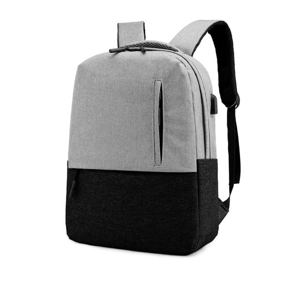 Рюкзак Urban, серый / черный - фото № 1
