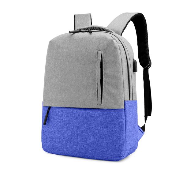 Рюкзак Urban, серый / синий - фото № 1