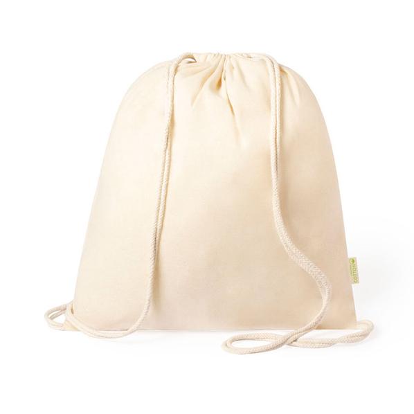 Рюкзак из органического хлопка Tibak, бежевый - фото № 1