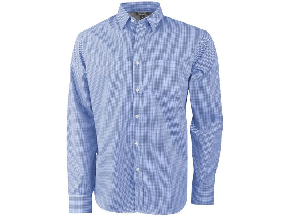 Рубашка с длинным рукавом мужская Slazenger Net, синяя - фото № 1