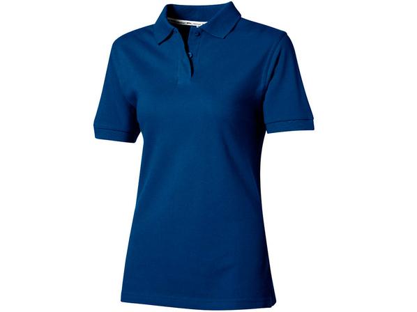 Футболка поло женская Slazenger Forehand, классический синий - фото № 1