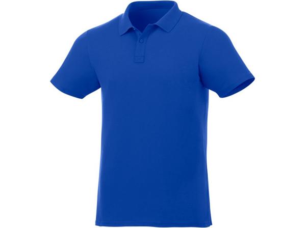 Футболка поло мужская Elevate Liberty, синяя - фото № 1