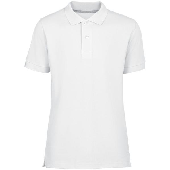 Футболка поло мужская Unit Virma Premium, белая - фото № 1